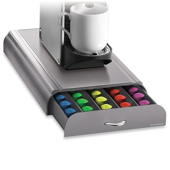 Alternate image 1 for Nespresso® Coffee Capsule Drawer (50 Pod Capacity)