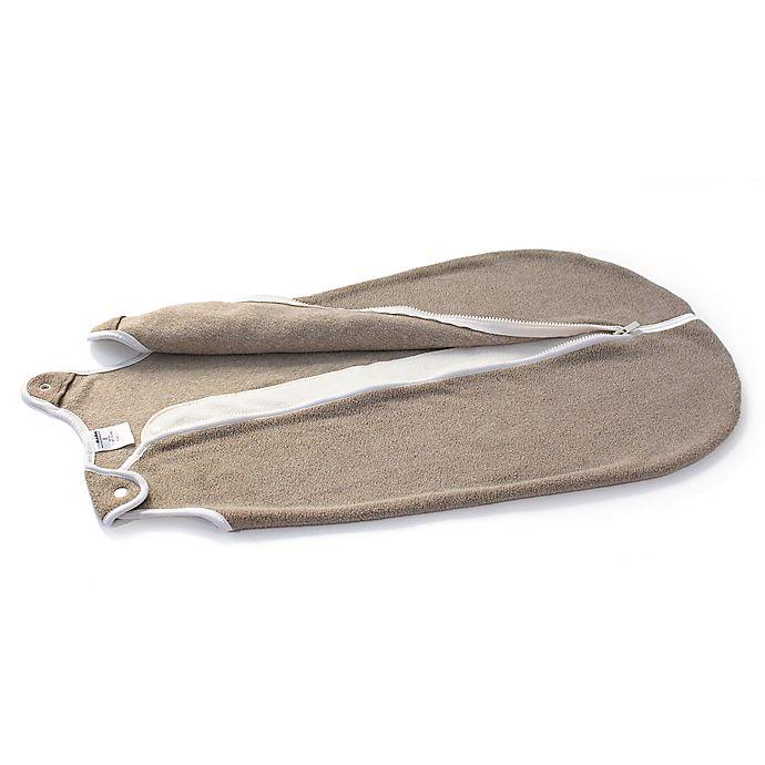 Alternate image 1 for Baby Deedee® Sleep Nest® Fleece Sleeping Bag in Mocha