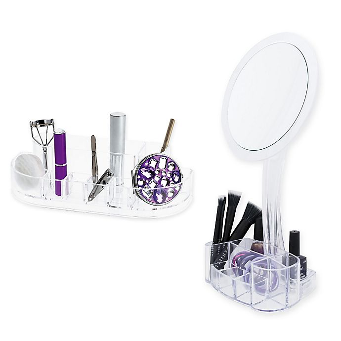 Alternate image 1 for Acrylic Cosmetic Organizers