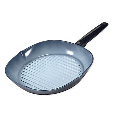 Moneta Azul Gres Nonstick 11.5-Inch Aluminum Grill Pan