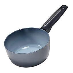 Moneta Azul Gres Nonstick 6.75-Inch Aluminum Sauce Pan