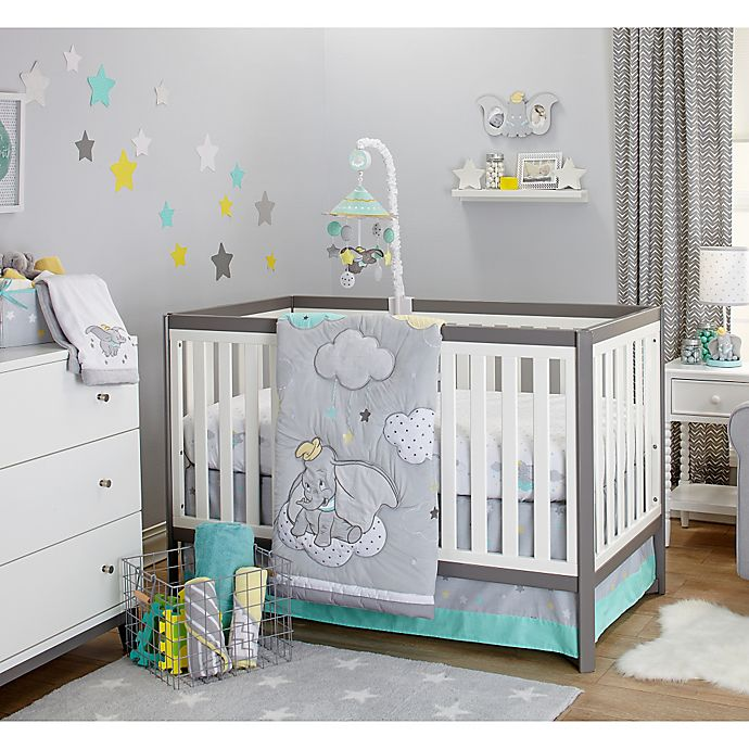 Alternate image 1 for Disney® Baby Dumbo Dream Big Crib Bedding Collection