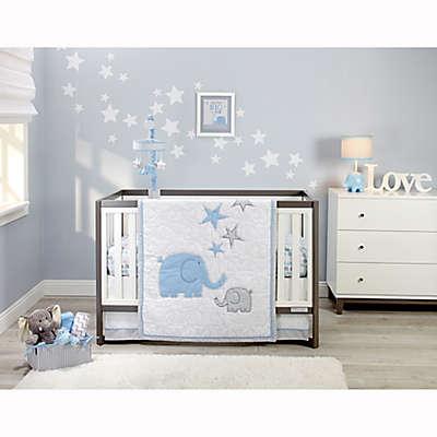 Zutano® Elefant Blau Crib Bedding Collection