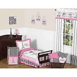 Sweet Jojo Designs 5-Piece Paris Toddler Bedding Set