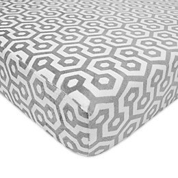 TL Care® Chenille Toddler Fitted Crib/Toddler Sheet
