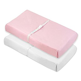 kushies® Cotton Flannel Changing Pad Fitted Sheet