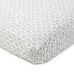 Levtex Baby Kenya Fitted Crib Sheet in Grey