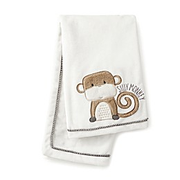 "Levtex Baby® Kenya ""Silly Monkey"" Blanket in Grey"