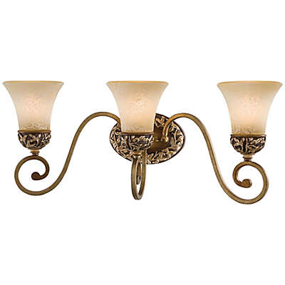 Minka Lavery® Salon Grand™ Bath Light Fixture in Florence Patina