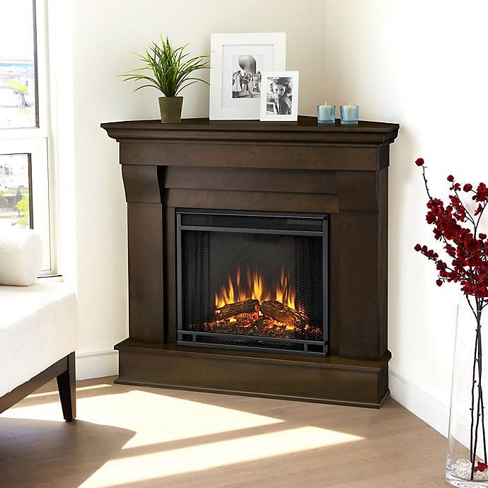 Real Flame Chateau Corner Electric Fireplace Bed Bath Beyond