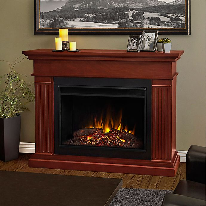 Real Flame Kennedy 55 Inch Freestanding Electric Fireplace Bed