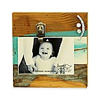 Sweet Bird Smile Clip 8 x8  Wood Photo Frame in Cool Breeze