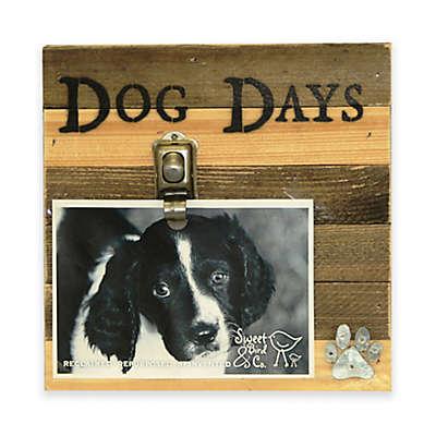 """Sweet Bird Dog Days 8""""x 8"""" Picture Frame in Beige"""