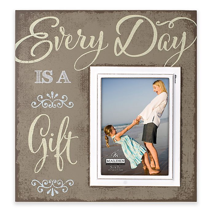 Alternate image 1 for Malden® 5-Inch x 7-Inch Everyday Frame
