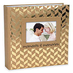 Malden® 160-Photo Moments Memories Album in Gold