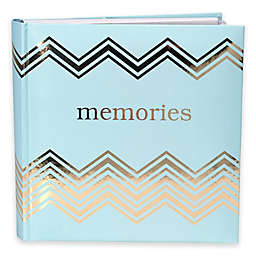 Malden® 160-Photo Memories Album in Light Blue