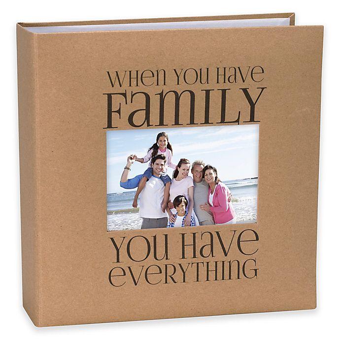Alternate image 1 for Malden® 160-Photo Family Album in Beige