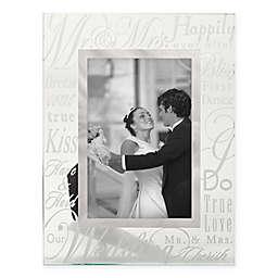 Malden®  6-Inch x 4-Inch Wedding Anniversary