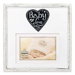 """Malden® """"Baby Love"""" 4-Inch x 6-Inch Wood Picture Frame"""