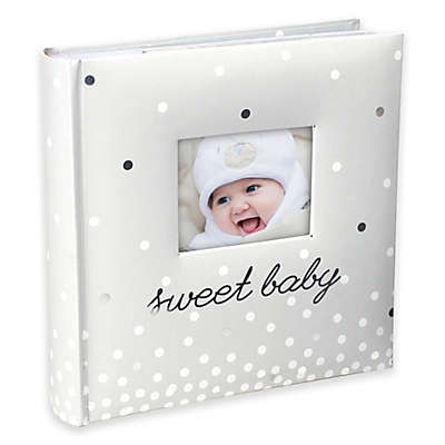 "Malden® ""Sweet Baby"" 160-Photo Album in Cream"