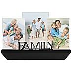 Malden® 3-Photo Family Shelf Picture Frame