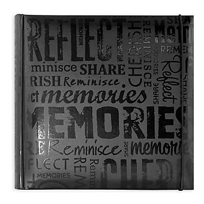 Memories 200-Photo Album in Black