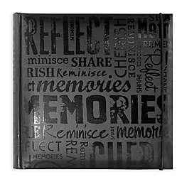 Memories 200-Photo Album in Black