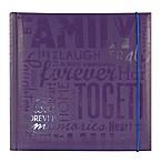 Family 200-Photo Album in Purple