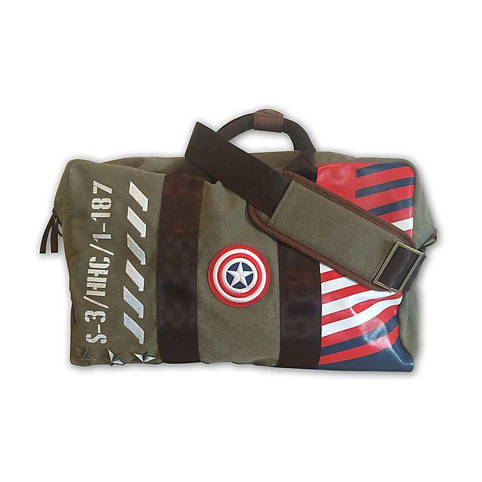 Marvel Captain America Vintage Military Duffle Bag