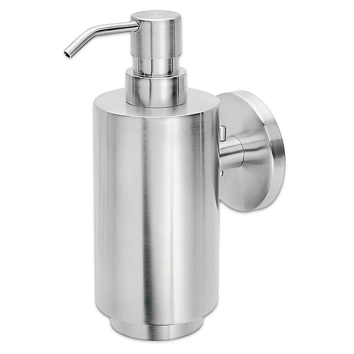 Alternate image 1 for Blomus Primo Wall Mounted Soap Dispenser in Silver