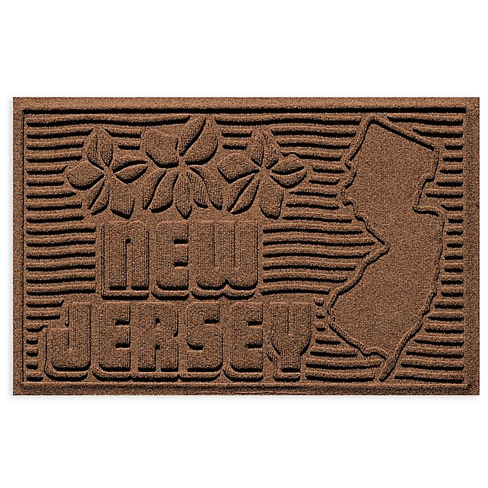 Alternate image 1 for Weather Guard™ New Jersey 2-Foot x 3-Foot Door Mat in Dark Brown