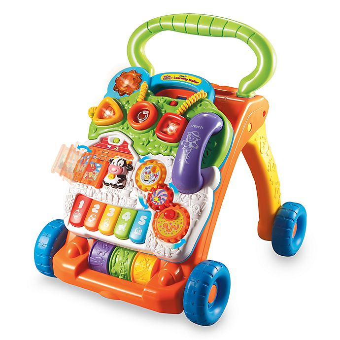Alternate image 1 for VTech® Sit-to-Stand Learning Walker™