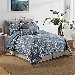 Anguilla Comforter Set in Blue