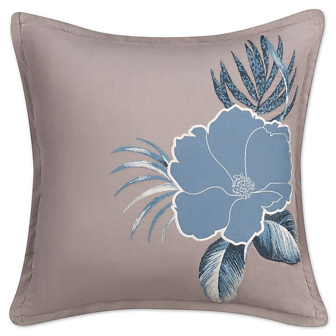 Anguilla Square Throw Pillow In Blue Bed Bath Amp Beyond