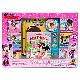 Disney® Junior Read, Explore, and More Deluxe 8 Book Set