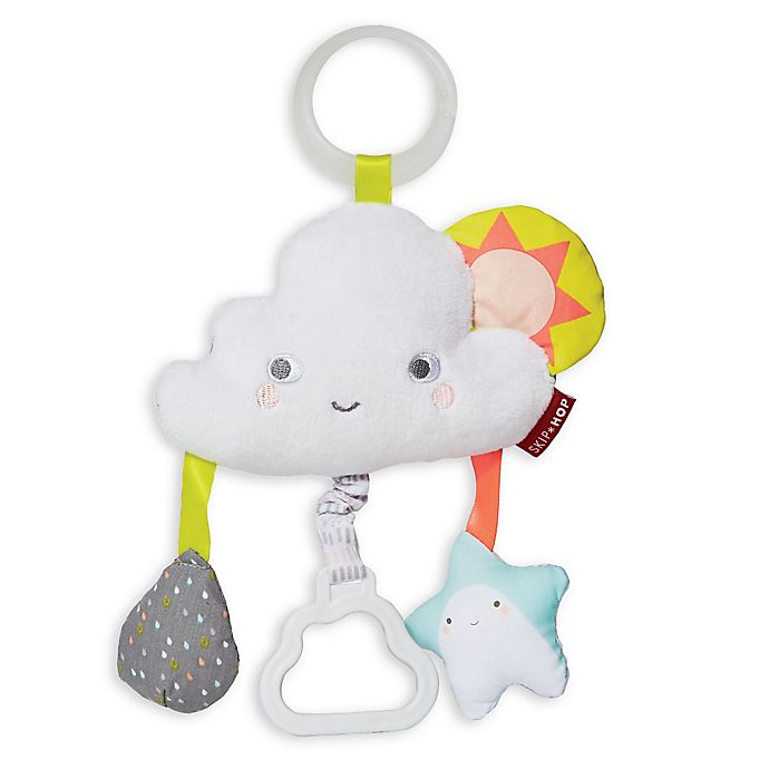 Alternate image 1 for SKIP*HOP® Silver Lining Cloud Jitter Stroller Toy