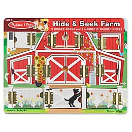 Melissa and Doug® Magnetic Farm Hide & Seek Board