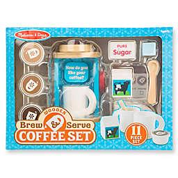 Melissa & Doug® Wooden Brew & Serve Coffee Play Set