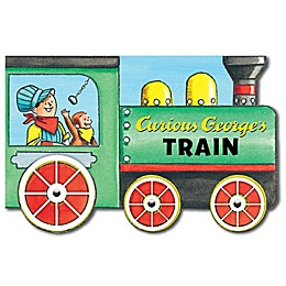 Curious George's Train Mini Movers Book