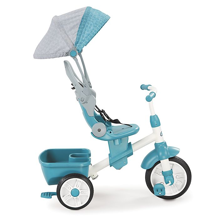 Alternate image 1 for Little Tikes® Perfect Fit 4-in-1 Trike in Teal