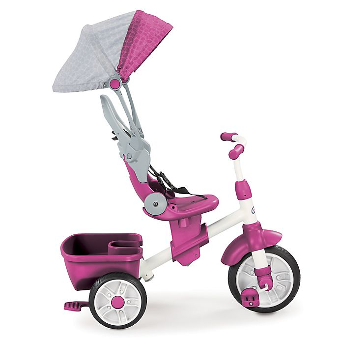 Alternate image 1 for Little Tikes® 4-in-1 Perfect Fit Trike in Pink