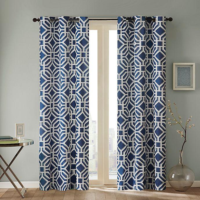 Alternate image 1 for Intelligent Design Maci Grommet Top Window Curtain Panel