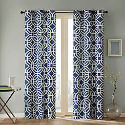 Intelligent Design Maci Grommet Top Window Curtain Panel