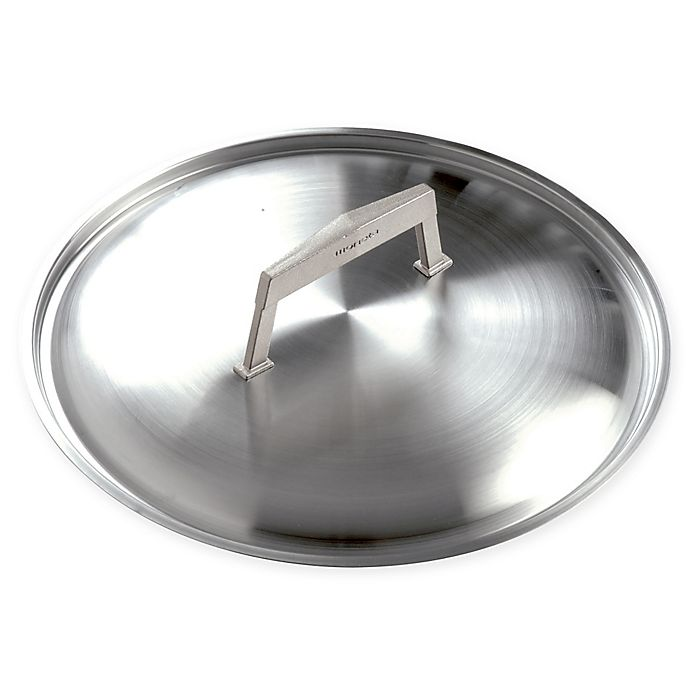 Alternate image 1 for Moneta Pro Protection Base 10-Inch Stainless Steel Lid