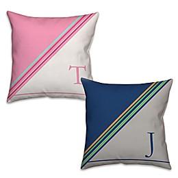 Stripes Square Throw Pillow