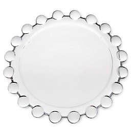 Hobnail Pilar Plate Candle Holder
