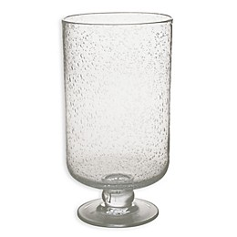 Hurricane Bubble Glass in Clear