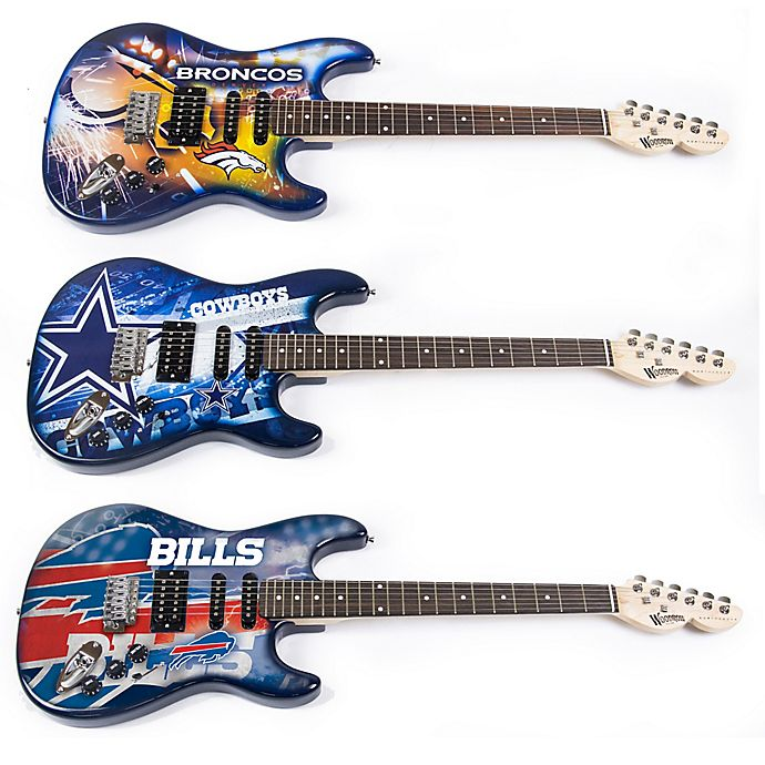 Alternate image 1 for NFL Woodrow NorthEnder Electric Guitar Collection