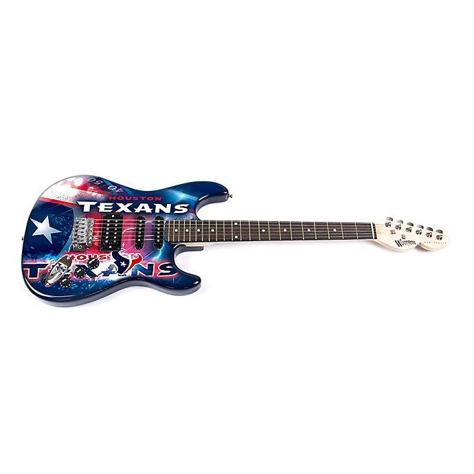 Alternate image 1 for NFL Houston Texans Woodrow NorthEnder Electric Guitar