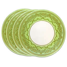 Classic Touch Trophy Salad Plates (Set of 4)
